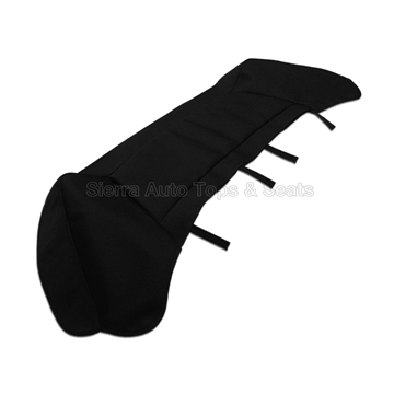 Jaguar XJS Series 1994-1996 Convertible Replacement Boot Cover - Black