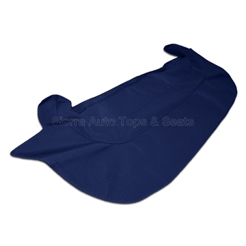 1971 Jaguar XKE V12 Series Convertible Boot Cover, Blue Stayfast Cloth
