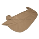 1971 Jaguar XKE V12 Series Boot Cover Kit Tan Stayfast Cloth