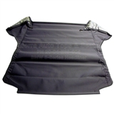 BMW E36 Headliner, Charcoal, 3 Tube, 3/4 Length Front Heat-seal with Plastic on both sides | Auto Tops Direct