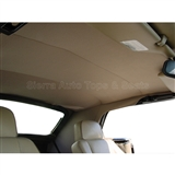 Jaguar XJS Replacement Convertible Headliner - Antelope