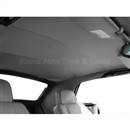 Jaguar XJS Convertible Replacement Headliner - Silver Foam-Back