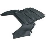 Chrysler Sebring Black Convertible Headliner, Cloth Foamback | Auto Tops Direct