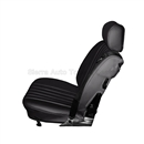 Mercedes Roadster Seat Replacement Kit: Black Leather & Diamond Insert