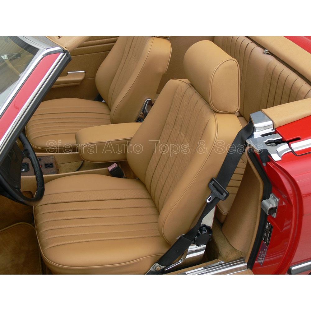 1985 Mercedes Sl Roadster Blue Vinyl Seat Kit Style 1