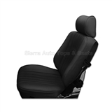 1986-1989 Mercedes SL Roadster Black Vinyl & Diamond Insert Seat Kit