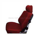1985 Mercedes SL Roadster Red Vinyl Seat Kit Replacement Style 2