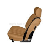 1972-1973 Mercedes SL Roadster Bamboo Leather Seat Replacement Kit | Auto Tops Direct
