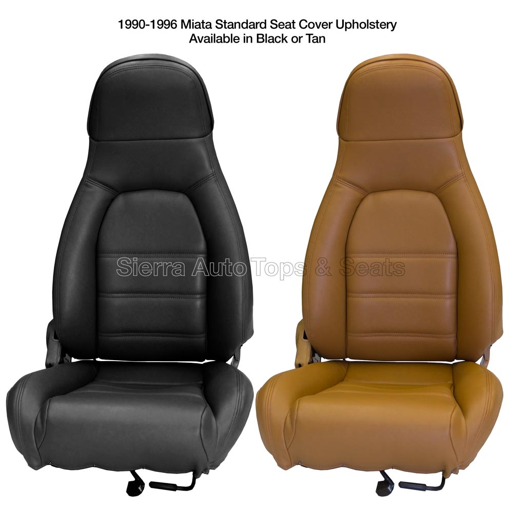 Incredible Mazda Miata 1990 1996 Front Seat Cover Kit With Diy Installation Guide Choose Black Or Tan Bralicious Painted Fabric Chair Ideas Braliciousco