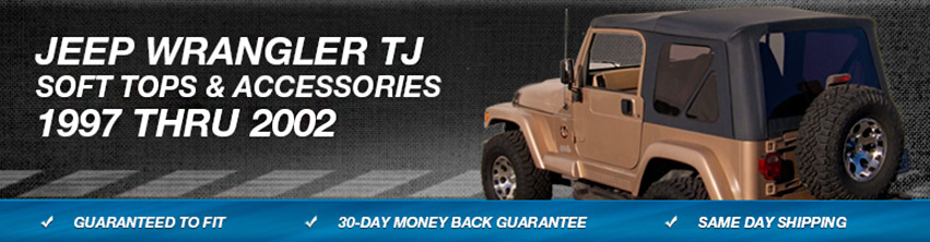 Jeep Wrangler TJ Soft Top Replacement