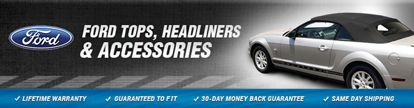 Mustang Convertible Top Replacements for 1983-2013 Fords