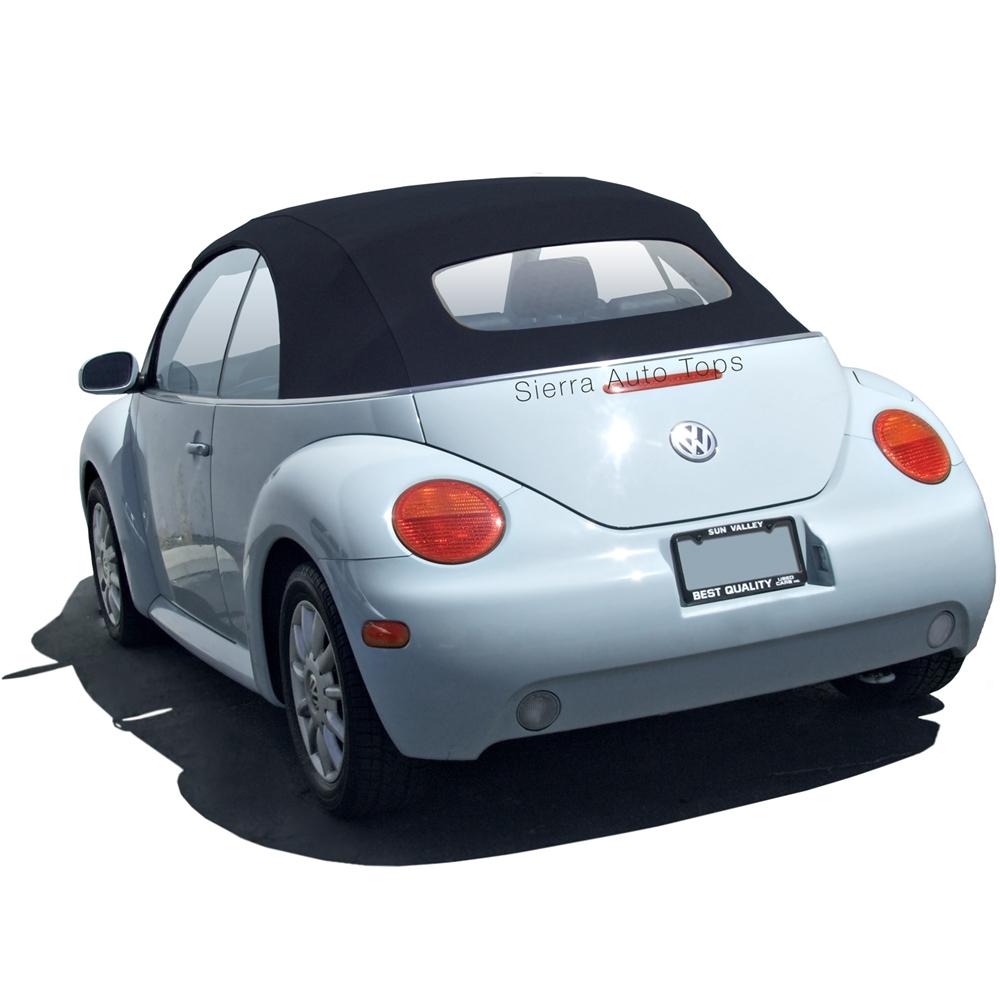 volkswagen beetle 2003-2010 convertible top | heated glass window