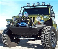 Body Armor '07+ Jeep Wrangler JK High Clearance Front Winch Bumper