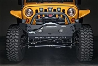 Body Armor '07+ Jeep Wrangler JK Mid-Stubby Front Winch Bumper