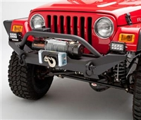 Body Armor Jeep YJ & TJ High Clearnace Front Winch Bumper