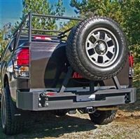 Body Armor '07-13 Toyota Tundra Rear Bumper, Base
