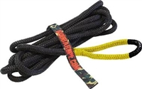"Bubba Rope 1/2"" x 20' Lil' Bubba, 7,400-lb Kinetic Rope, Yellow Eyes"