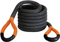 "Bubba Rope 1-1/4"" x 30' Big Bubba, 52,300-lb Kinetic Rope, Orange Eyes"