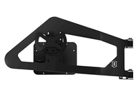 ICON Impact PRO Series Body Mounted Tire Carrier Kit for '07-18 Jeep Wrangler JK (25226)