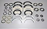 86-95 Suzuki Samurai Front Axle Knuckle Rebuild Kit w/ Wheel & King Pin Bearings
