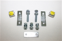 MaxTrac '07+ Tundra Carrier Bearing Spacers & Brake Line Brackets (616700)