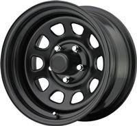 ProComp Rock Crawler Series 51 Steel Wheels, Gloss Black