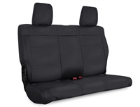 PRP Rear Bench Seat Covers for '07-12 Jeep Wrangler JK 2 Door - Multiple Color Options or Custom (B017/B020)