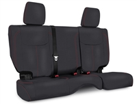 PRP Rear Bench Seat Covers for '13-18 Jeep Wrangler JK  - Multiple Color Options or Custom (B023/B024)