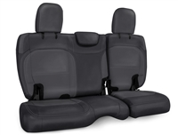 PRP Rear Bench Seat Covers for '18+ Jeep Wrangler JL 2 Door (Cloth Interior) - Multiple Color Options or Custom (B041/B043)
