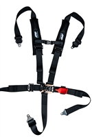 "PRP 2"" Competition Style 5 Point Harness with Sewn in Pads"