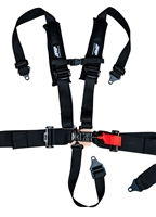 "PRP Competition Style 5 Point Harness, 3"" Lap, 2"" Shoulder w/Pads"