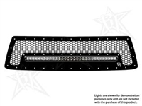 Rigid Industries '12+ Toyota Tundra Grille Kit, Black (for use w/20 in. LED SR-Series Light, sold separately)