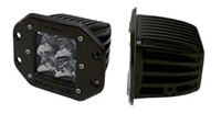 Rigid Industries Dually LED Flush Mount Flood - Set of 2 (21211)