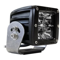 Rigid Industries Dually HD Black LED Spot Light - Set of 2 (22221)