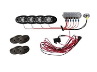 Rigid Industires LED Rock Light Kit, Cool White (4 Lights)