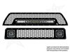 Rigid Industries '10+ Toyota 4Runner Upper & Lower Grille Kit (lights sold separately)