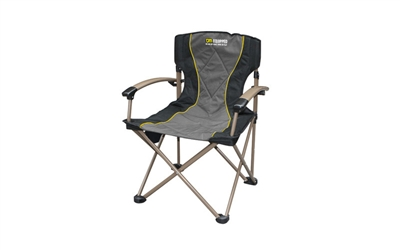 TJM Camping Chair With Bag (264 lbs Load Capacity)
