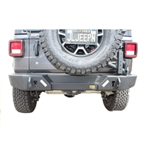 TJM Trail Runner Rear Bumper for 2018+ Jeep Wrangler JL (4 Door Models Only)