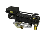 TJM 12,000 lb Torq Series Winch w/Black Synthetic Rope