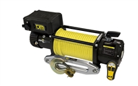 TJM 9,500 lb Torq Series Winch w/Black Synthetic Rope
