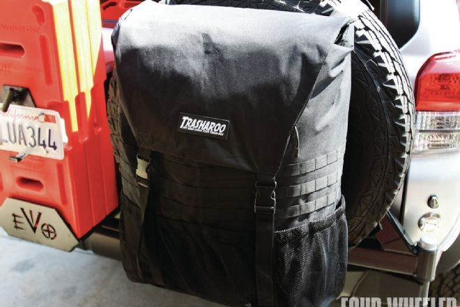Trasharoo Off Road Spare Tire Trash Bag