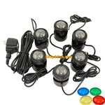 Jebao 6-LED Submersible Pond Light