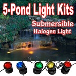 Jebao Submersible Halogen Light Set (5-lights)