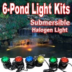 Jebao Submersible Halogen Light Set (6-lights)