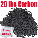 20 LBS Premier Activated Carbon
