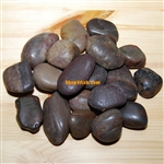 "30 lbs Red Polished River Pebble Stone 2""-3"""