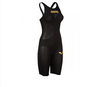Rapid Swimshop Arena Powerskin Carbon Air2 Kneeskin Short Leg (Open) Black/Gold