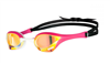 Rapid Swimshop Arena Cobra Ultra Swipe Mirror Goggles Yellow/Copper/Pink