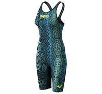 Rapid Swimshop Arena Powerskin Carbon Air2 Kneeskin (Open) Blue Python Ltd Edition