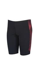Rapid Swimshop Arena Feather JR Jammer Black Fluo Red - Boys